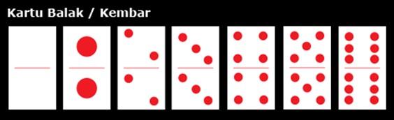 kartu balak atau kembar
